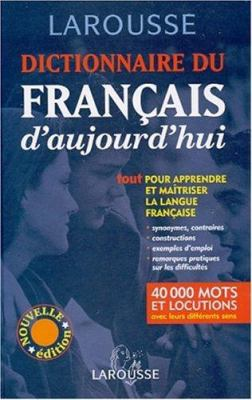 Dictionnaire Du Francais D'Aujourd'hui 9782035320223