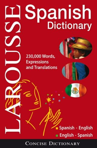 Larousse Concise Dictionary: Spanish-English/English-Spanish 9782035410092
