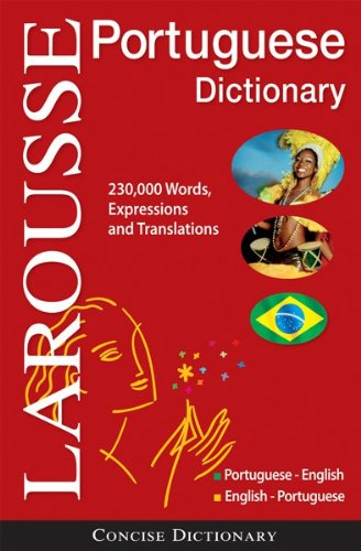 Larousse Portuguese-English/English-Portuguese Dictionary 9782035410399