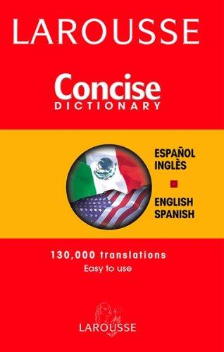 Larousse Diccionario Compact: Espnaol-Ingles, Ingles-Espanol 9782035421371