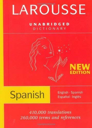 Larousse Diccionario/Dictionary: English-Spanish/Espanol-Ingles 9782035402219