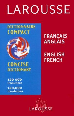 Larousse Dictionnaire Compact Francais-Anglais, Anglais-Francais 9782034203022