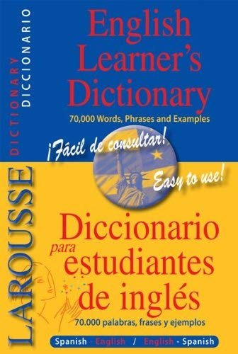 Larousse English Learner's Dictionary: Diccionario Para Estudiantes de Ingles 9782035410375