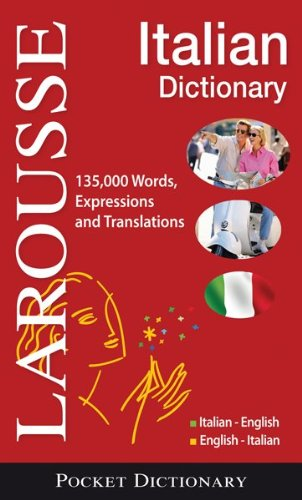 Larousse Pocket Dictionary: Italian-English/English-Italian 9782035410078