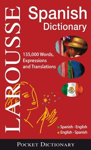 Larousse Pocket Dictionary: Spanish-English/English-Spanish 9782035410221