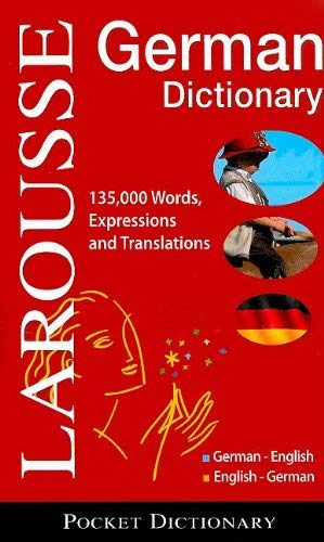 Larousse Pocket Dictionary: German-English/English-German 9782035410061