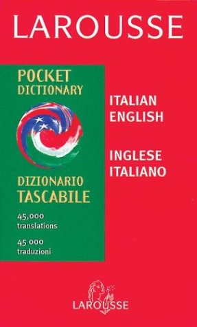 Larousse Pocket Italian/English English/Italian Dictionary 9782034207150