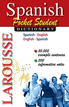 Spanish Pocket Student Dictionary 9782035410412