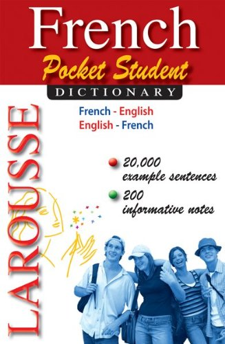 French Pocket Student Dictionary 9782035410405