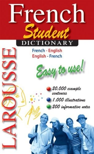 Larousse Student Dictionary French-English/English-French 9782035410153