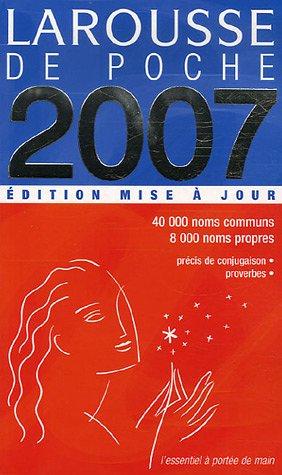 Larousse de Poche 2007: Edition Mise A Jour 9782035320902