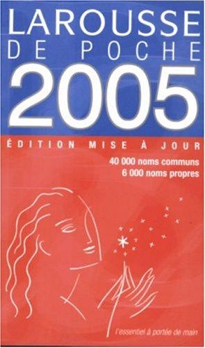 Le Larousse de Poche 2005 9782035320858