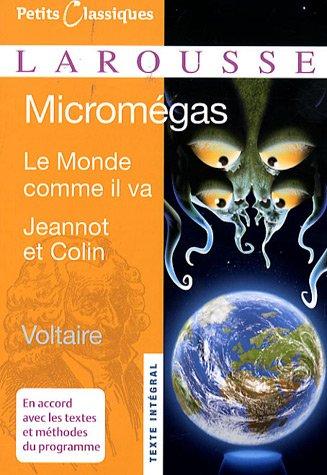 Micromegas: Le Monde Comme Il Va Jeannot Et Colin 9782035834270