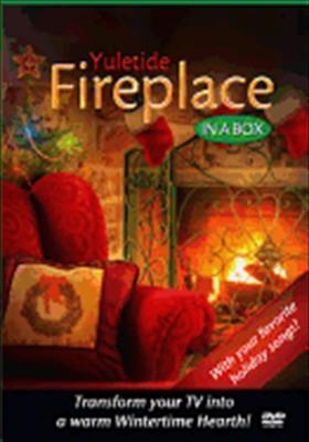 Yuletide Fireplace in a Box