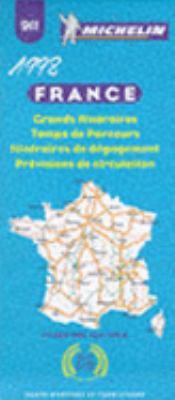 1992 France, Route Planning, Alternative Routes, Journey Times Urs: 1/1 000 000-1 CM.:10 Km. = 1992 France, Route Planning, Alternative Routes, Journe 9782067009110