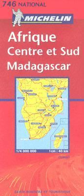Michelin Afrique Centre et Sud Madagascar/ Africa Central & South, Madagascar 9782061002926