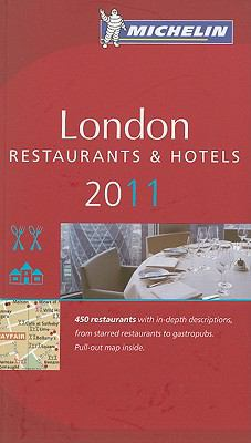 Michelin Red Guide London: A Selection of Restaurants & Hotels [With Map] 9782067153561