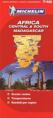 Africa Central South & South Madagascar/Afrique Centre Et Sud Madagascar 9782067128378