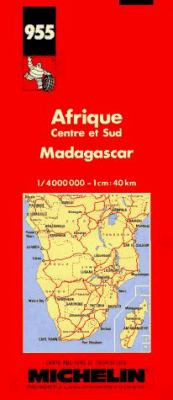 Afrique, Centre Et Sud, Madagascar: Carte Routiere Et Touristique = Africa, Central and South, Madagascar 9782067009554