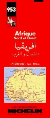 Afrique, Nord Et Ouest: Carte Routiere Et Touristique = (Afriqiya, Al-Shamal Al-Gharb) = Africa, North and West 9782067009530