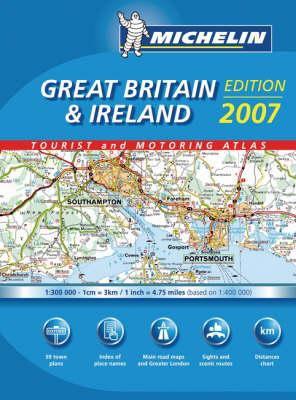 Atlas Great Britain & Ireland (Mini-Spiral) Michel 9782067125070