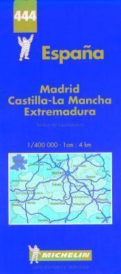 Carte Routiere Et Touristique Michelin: Indice de Localidades: 1:400 000-1 CM:4 Km = Espagne: Repertoire Des Localites = Spain: Index of Places 9782067004443