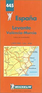 Carte Routiere Et Touristique Michelin: Indice de Localidades: 1:400 000-1 CM:4 Km = Espagne: Repertoire Des Localites = Spain: Index of Places 9782067004450