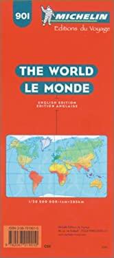 Carte Routiere Et Touristique Michelin: Le Monde, 1:28 500 000 9782067019010