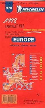 Carte Routiere Et Touristique Michelin 9782067009707