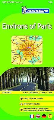 Environs of Paris 9782067148857