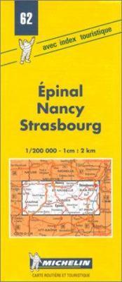 Epinal/Nancy/Strasbourg 9782067000629