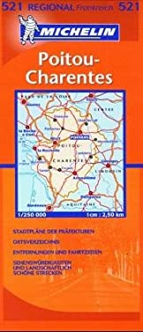 France Regional Poitou-Charentes-Michelin Map #233 9782067002333