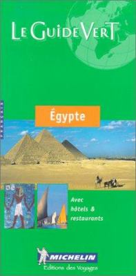 Le Guide Vert Egypte 9782061000489