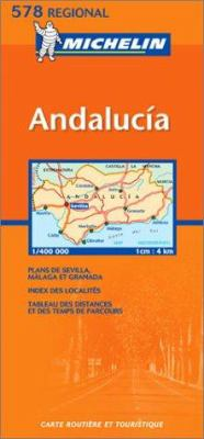 Michelin Andalucia Southern Spain 9782061007655