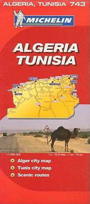 Michelin Algeria, Tunisia 9782067128347