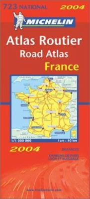 Michelin Atlas Routier France 9782067104082