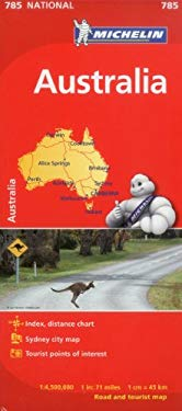 Michelin Australia Map 785 9782067174092