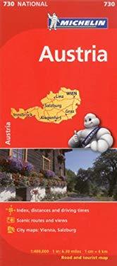 Michelin Austria Road and Tourist Map
