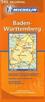 Michelin Baden-Wurttemberg 9782067119963