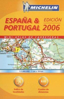 Michelin Espana & Portugal: Mini-Atlas de Carreteras 9782067116818