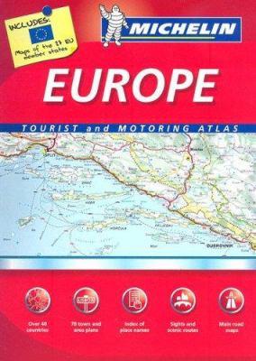 Michelin Europe 9782067124196