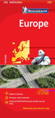Michelin Europe 9782067170117