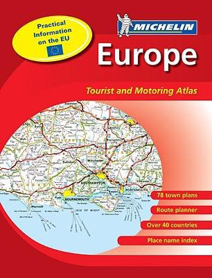Michelin Europe Tourist and Motoring Atlas 9782067141124