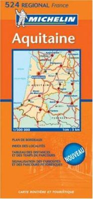 Michelin France Aquitaine 9782067106406