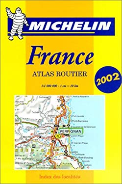 Michelin France Atlas Routier 9782061001639