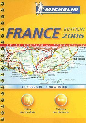 Michelin France Atlas Routier Et Touristique 9782067116825