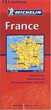 Michelin France Map No. 721 9782061005408