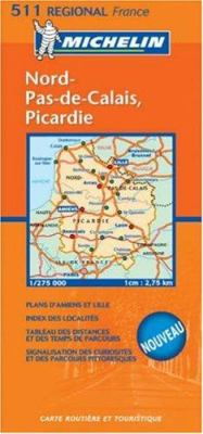 Michelin France Nord-Pas-de-Calais, Picardie 9782067106277