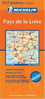 Michelin France Pays de Loire 9782067106338