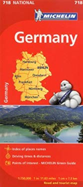 Michelin Germany Map 718 9782067170834